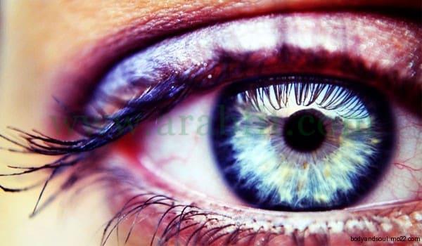 الاستدلال بحالة العين في الكشف على حالة الاجهزة الحيوية للجسم